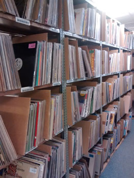 All our records are carefully stored